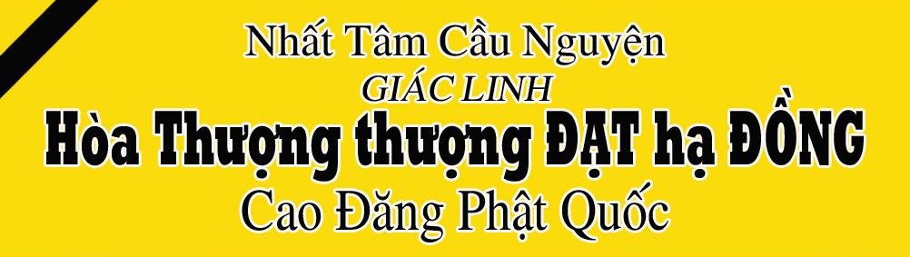 Hoa Thuong Thich Dat Dong